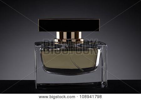 Perfume On A Dark Gradient