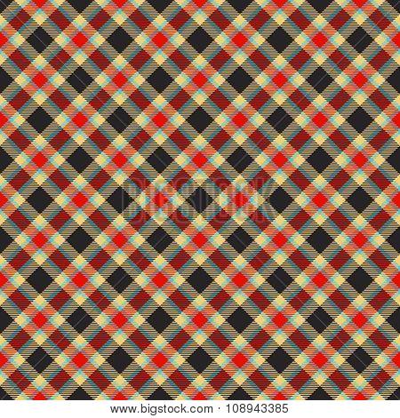 traditional colorful tartan pattern