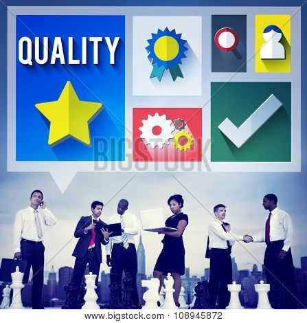 Quality Level Condition Grade Satisfaction Status Concept