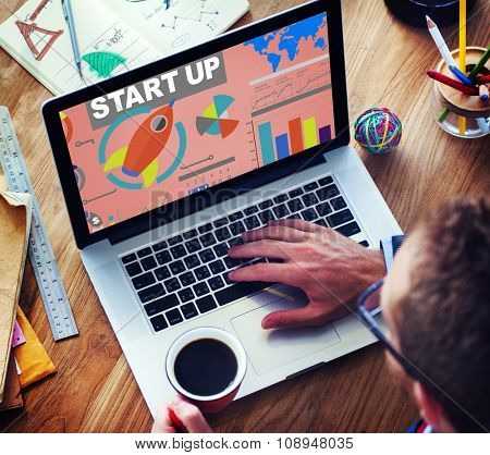 Business Plan Startup Strategy Innovation Vision Creativity Concept