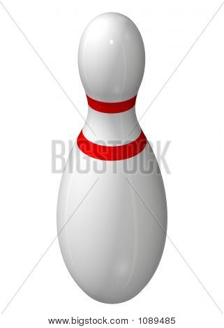 Single Bowling Pin