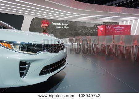 Kia Motors Stand