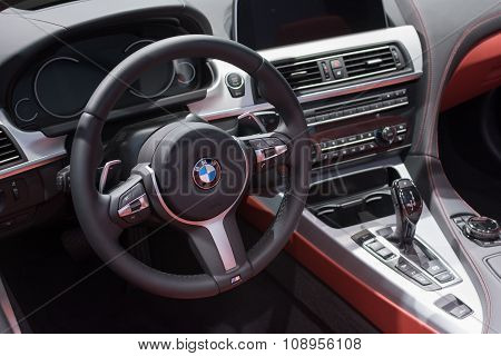 Bmw 650I Xdrive Convertible Interior