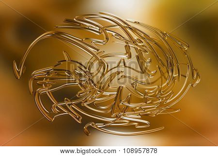 abstract background, color and glass effect.