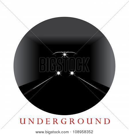 Underground train logo