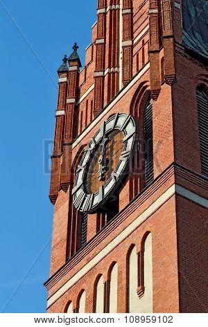 Church Of The Holy Family. Kaliningrad (former Koenigsberg), Russia