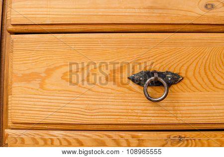 wooden brown dresser