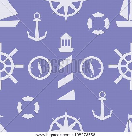 Vector Nautical Pattern