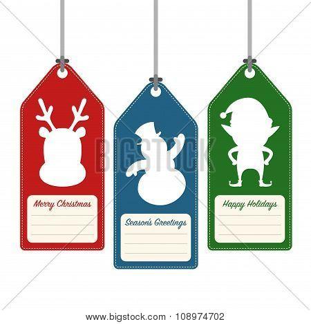 Christmas And Holiday Hang Tags