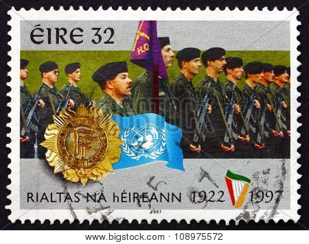 Postage Stamp Ireland 1997 Irish Defense Forces