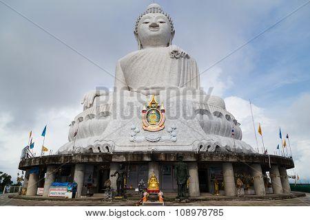 Phuket, Thailand - Circa September 2015: Big Buddha Monument In Phuket,  Thailand