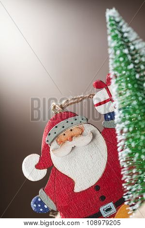 Santa Claus Doll Decoration