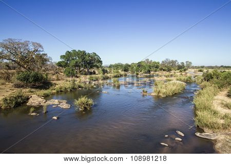 Sabie River In Kruger National Park