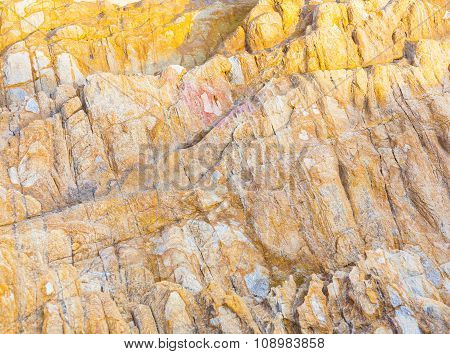 Beautiful Stones, Rocks In Sunlight With Interesting Harmonic Structure