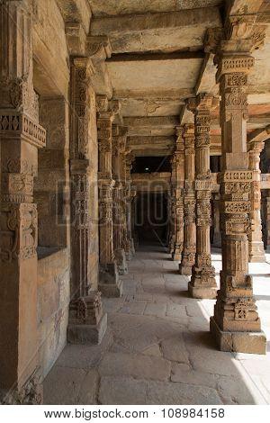 Well Crafted Pillars, Qutub Minar Complex, Delhi, India