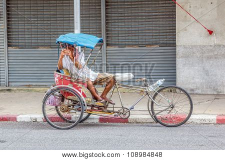 Tricycle Bicycle Taxi