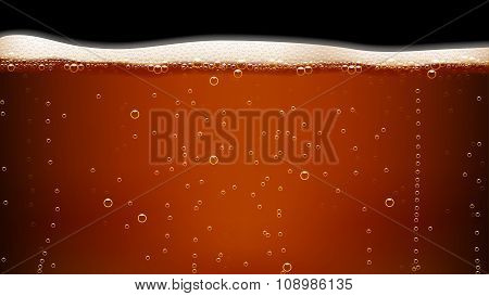 picture of dark beer
