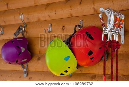 Helmets, Safety Carabiner