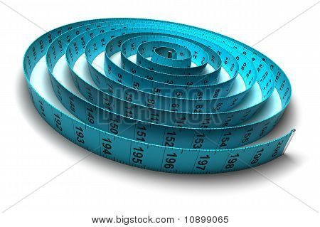 Plastic Tape Measure - Weight Loss - Diet