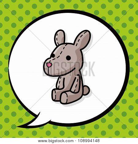Rabbit Doll Doodle