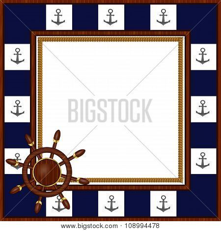 Photo frame Seafaring