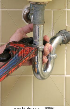 Plumber's Pipe Wrench