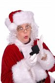Постер, плакат: Миссис Санта Клаус получил кольцо