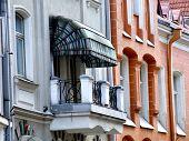 Tallinn Architecture - Old Balcony poster