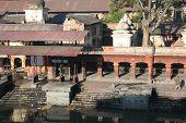 image of tantric  - holy hindu pashupatinath temple in kathmandu nepal - JPG