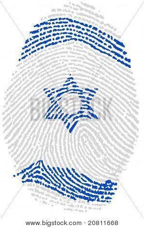 Israel Fingerprint Passport