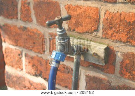 Outside Tap And Hose