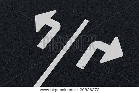 Road Markings - Arrows