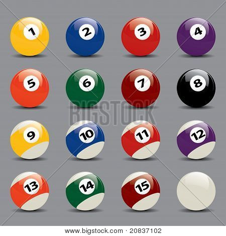 Snooker Ball Set