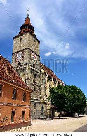 Black Church In Brasov, Transylvania, Romania