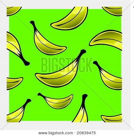 Banana Repeat Pattern