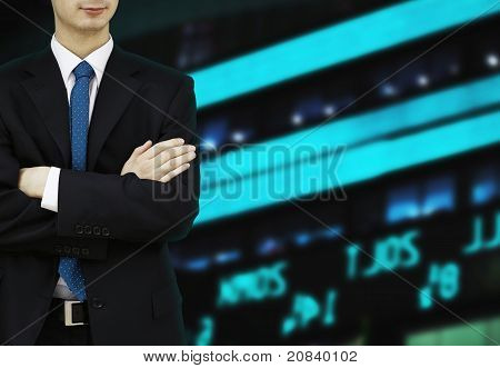 Businessman Stock Exchange Market