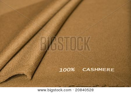 Brown Cashmere Fabric