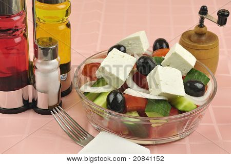 Greek Salad Arrangement