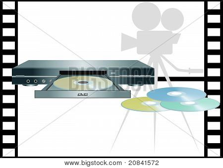 DVD-ROMs and DVD-player