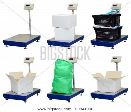Platform Scales Set | Isolated