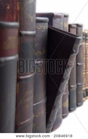 Rows Of Old Books