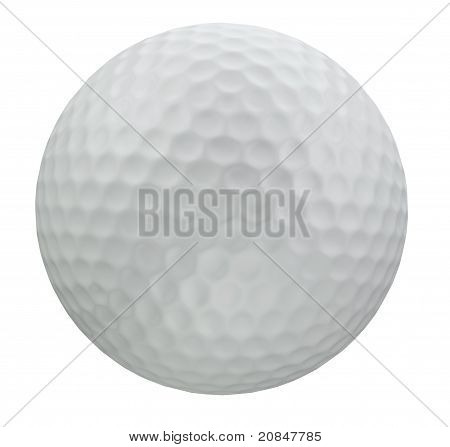 Golf Ball - Clipping Patch Included