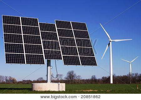 Wind Farm & Solar Farm