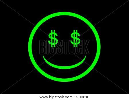 Symbol Money Eye