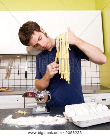 Homemade Pasta Fettuccine