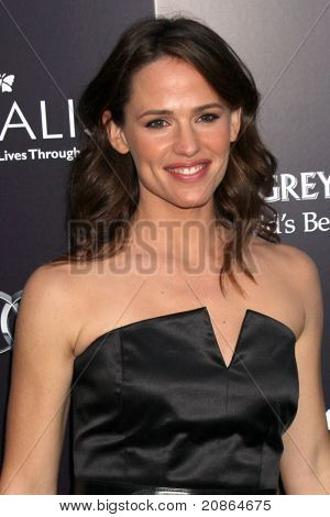 LOS ANGELES - JUN 11:  Jennifer Garner arrives at the 10th Chrysalis Butterfly Ball at Private Home on June 11, 2011 in Brentwood, CA