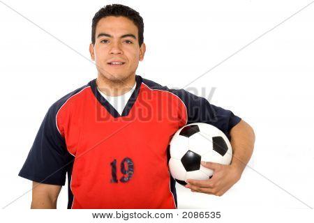 Male Footballer