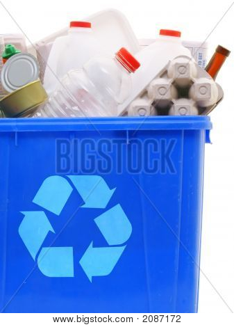 Bin Of Recyclables