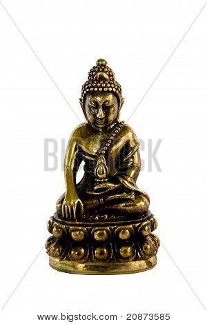 Amulet Buddha Statue