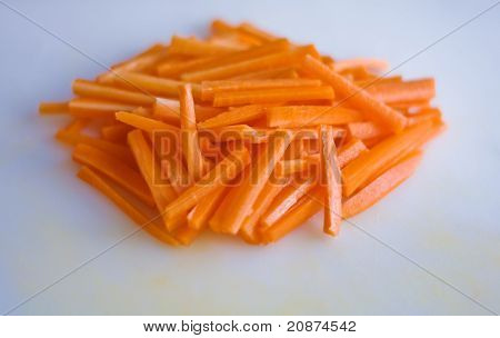 Carrots Julienned